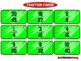 Fraction Fun Run (Equivalent Fractions Game)
