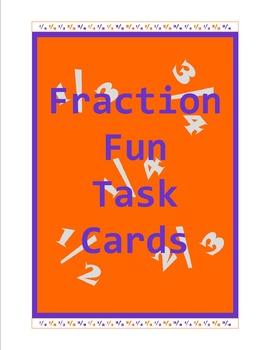 Fraction Fun Task Cards