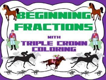 Fraction Fun-Triple Crown Theme