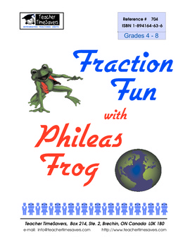Fraction Fun With Phileas Frog