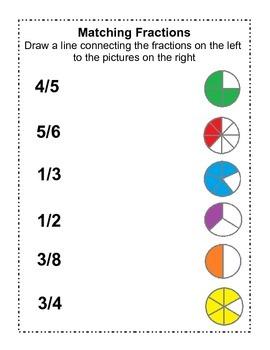 Fraction Fun Worksheets