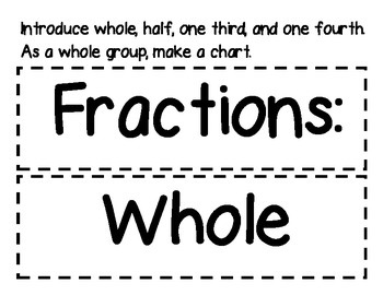 Fraction Fun for K-1