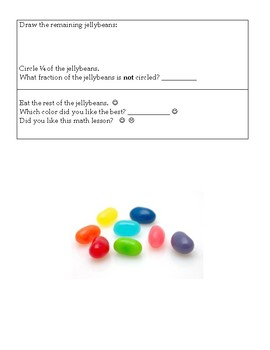 Fraction Fun in Math Class with Jellybeans!