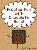 Fractions Fun with Hershey Bar Printables~ Posters, Activities and Worksheets