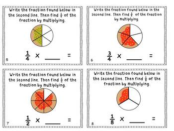 Fraction Fun with Santa and Cookies *Reinforces 8 Key Common Core Skills*