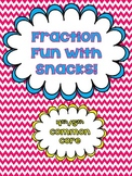 Fraction Fun with Snacks {Freebie}