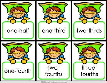 Fractions Activities: 10 Fractions Games (Models, Number Lines, Word Form)