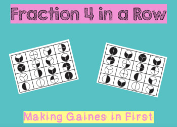Fraction Game - 4 in a Row