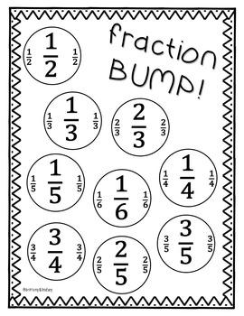 Fraction Game: BUMP!