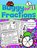 Fraction Game FREEBIE: Buggy for Fractions!
