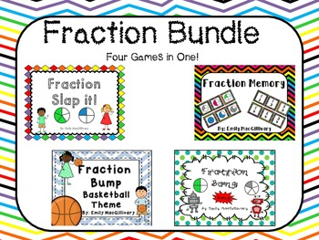 Fraction Game Bundle (Four Games in One!)