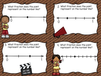 Fraction Games - Identifying, Comparing, and Fractions on a Number Line