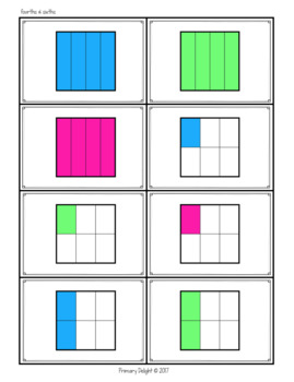 Fraction Game: Fractions War - Level 2