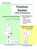 Fraction Game - Dominoes (2 sets)