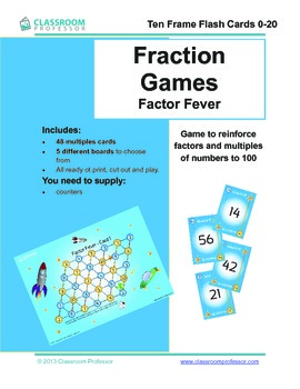 Fraction Game - Factor Fever
