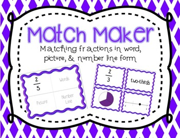 Fraction Game Match Maker