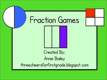Fraction Game Pack