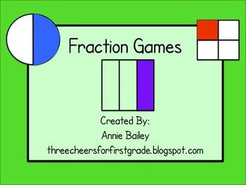 Fraction Game Pack