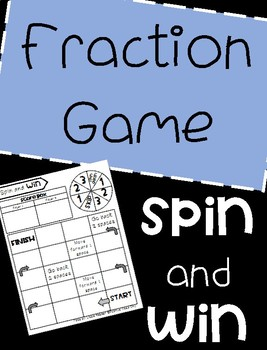 Fraction Game: Texas TEKS