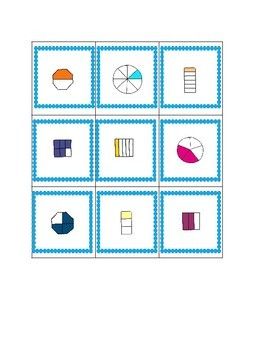 Fraction Game With Three Levels - Recognition, Equivlalent, and Number Lines