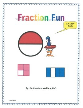 Fraction Game Common Core Aligned, Grades K, 1st and 2nd