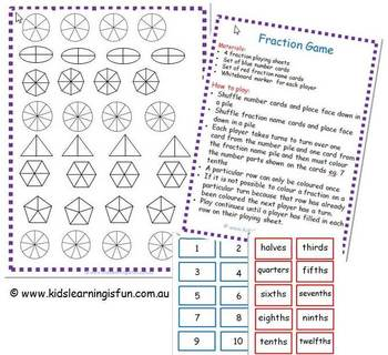 Fraction Game with renaming