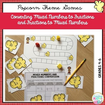 Fraction Games and Activities