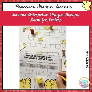 Fraction and Mixed Numbers Games and Activities