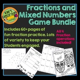 Fraction Games Bundle - Engaging Activities That Make Fractions Fun!