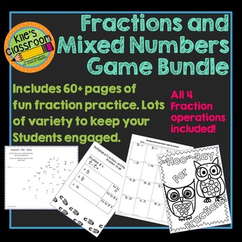 Fraction Games Bundle - Engaging Activities That Make Fractions Fun!