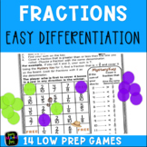 Equivalent Fraction Games, Comparing Fractions, & More Mystery Themed