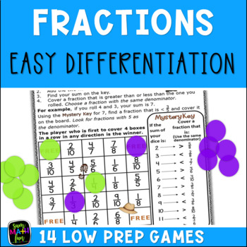 Equivalent Fraction Games ||Comparing Fractions || Distance Learning
