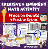 Fraction Games: Four Creative Events