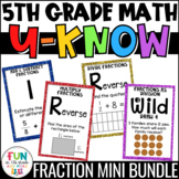 Fraction Games | U-Know Fraction Review Games MINI Bundle