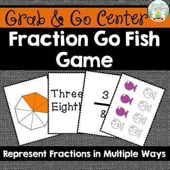 Fraction Go Fish Game