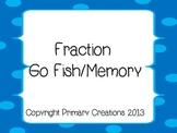 Fraction Go Fish/Memory