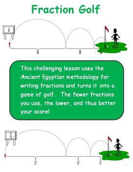 Fraction Golf