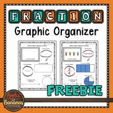 Fraction Graphic Organizer Freebie