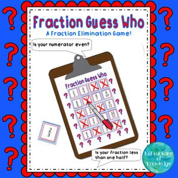 Fraction Guess Who Elimination Game