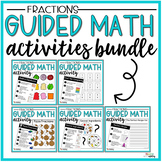 Fraction Guided Math Activity Chef Hat Comparing