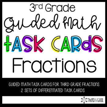 Fraction Guided Math Task Cards