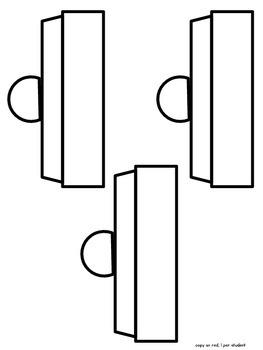 Fraction Gumball Craftivity