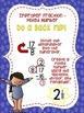 Fraction Gymnastics Posters: Mixed Number and Improper Fraction Conversion