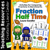 Comparing Fractions to Half | Fraction Half Time Game and