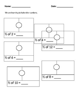 Fraction- Halving Numbers