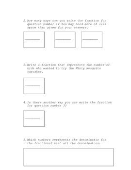 Fraction Handouts