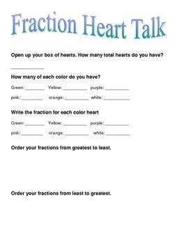 Fraction Heart Talk