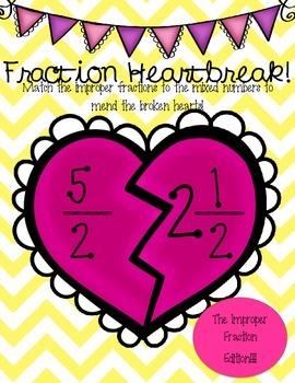 Fraction Heartbreak - The Improper Fraction Edition!