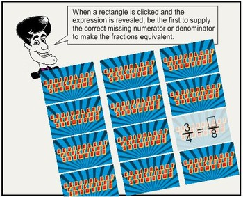 Equivalent Fractions Hunt with Guy Infinity