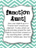 Fraction Hunt Freebie!